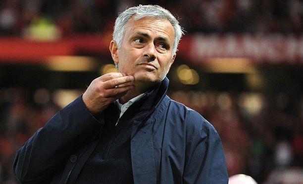 José Mourinho ei mielistele ketään.