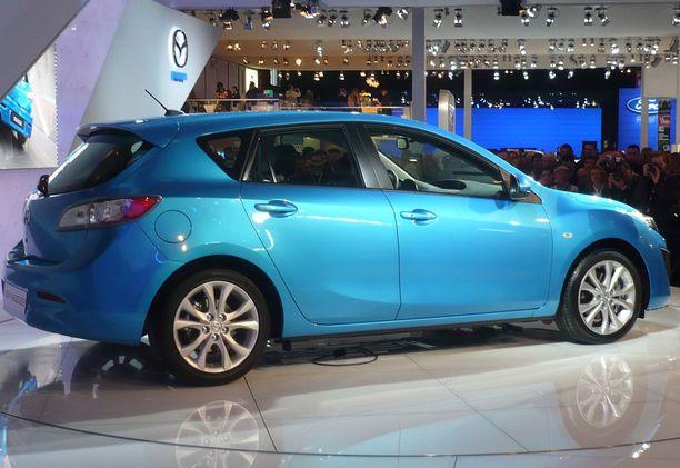 Mazda 3 on vielä 6 - 7 vuoden iässä vähävikainen.