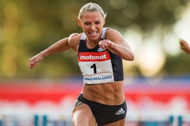 Annimari Korte hakee uutta Suomen ennätystä jo viikon päästä Lahdessa.