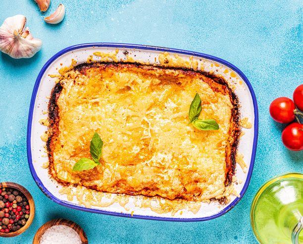 Lasagnessa kyse on enemmän mausta kuin ulkonäöstä.