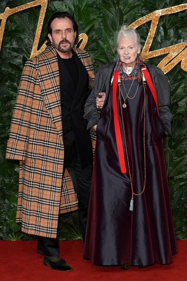 Andreas Kronthaeler ja Vivienne Westwood