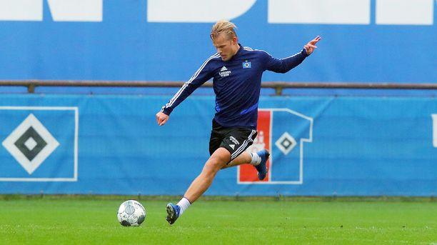 Joel Pohjanpalo tuli Hampuriin nostamaan HSV:n Bundesliigaan.