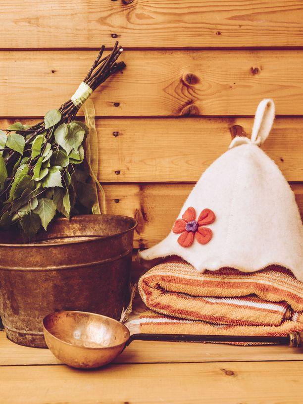 Kaiken lähtökohta saunomisessa on se, että sauna on puhdas.