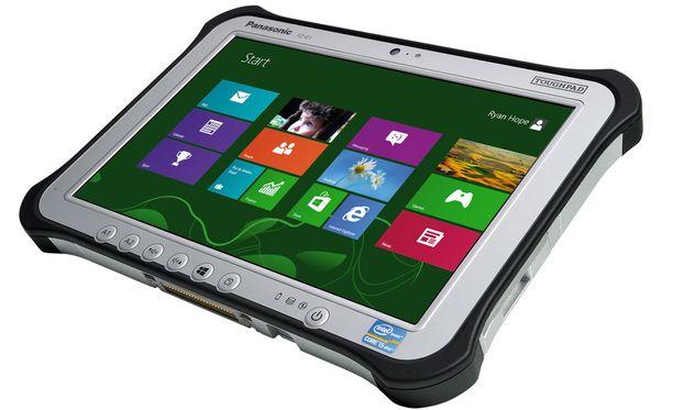 Toughpad on suosittu muun muassa sotilaskäytössä.