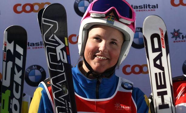 Anna Holmlund ehti ennen onnettomuuttaan voittaa kaksi arvokisapronssia.