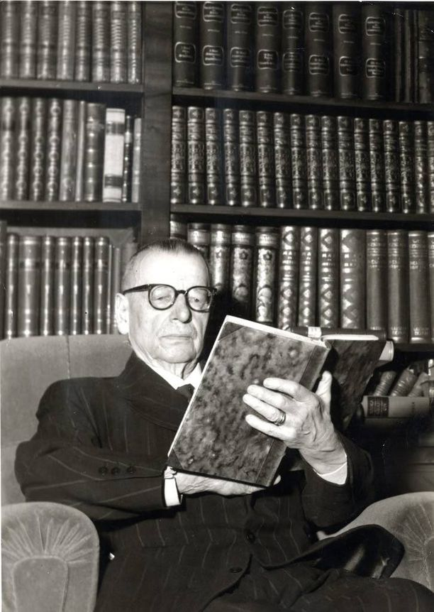 J.K. Paasikivi tasavallan presidenttinä 1946-1956.