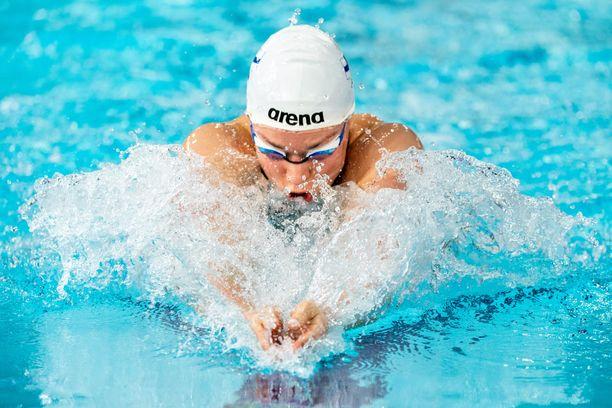 Jenna Laukkanen on ollut vireessä uinnin lyhyen radan EM-kisoissa.