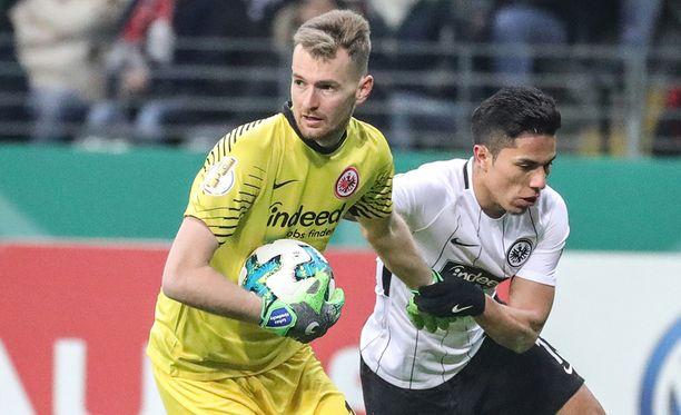 Lukas Hradecky kiinnostaa Dortmundissa.