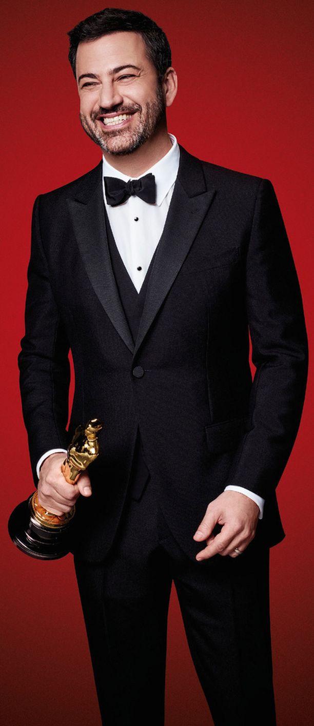 Oscar-gaalan juontaa koomikko Jimmy Kimmel.