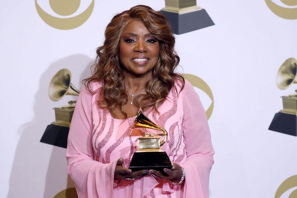 Gloria Gaynor palkittiin parhaasta gospel-albumista Grammy-palkinnolla tammikuussa.