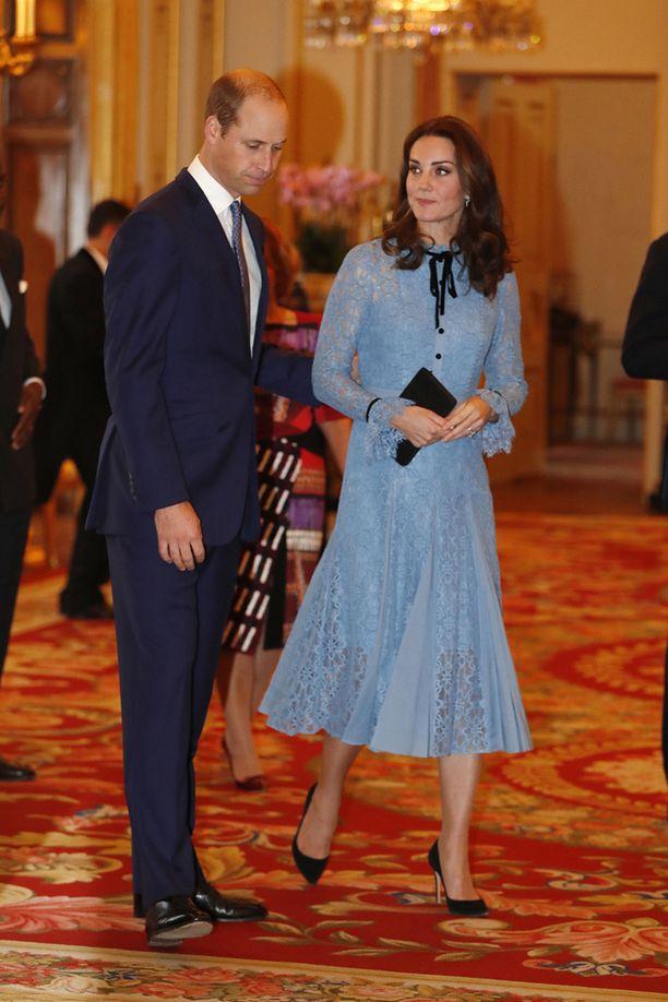 Prinssi William ja herttuatar osallistuivat mielenterveystapahtumaan.