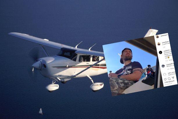 Janne Kaperin oli tarkoitus hypätä lentokoneesta laskuvarjohyppy.