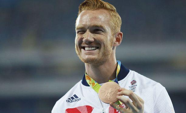 Rion olympialaisista Greg Rutherford haki pronssia.