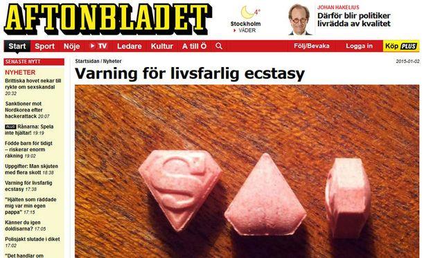 Superman-pillerit nousivat otsikoihin muutama päivä sitten Ruotsissa.