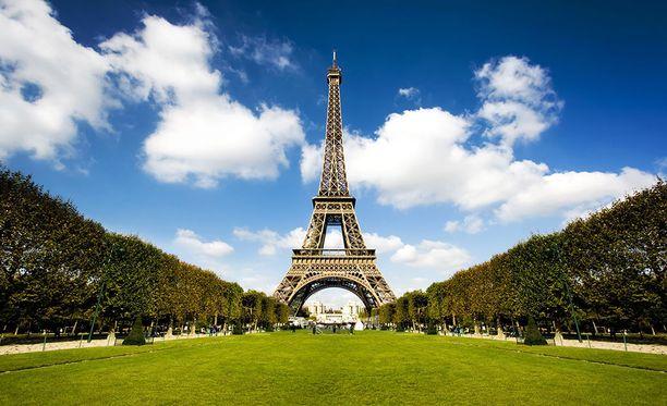 Pariisin puistot ovat toukokuussa jo vehreitä.