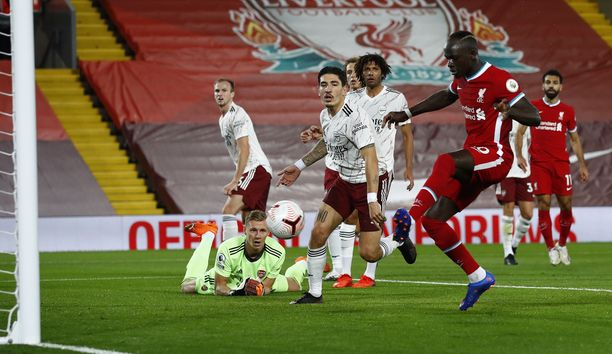 Sadio Mane puttasi Liverpoolin tasoitusosuman.