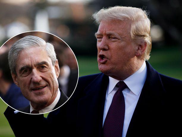 Donald Trump kiistää erikoissyyttäjä Robert Muellerille antamissaan vastauksissa tienneensä Trump Towerin tapaamisesta tai Wikileaksistä, kertoo uutiskanava CNN.