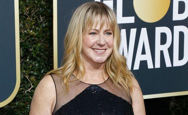 Tonya Harding kuvattuna Golden Globe -gaalassa 7. tammikuuta.