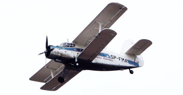 Itämereen pudonnut kone on samanlainen kuin kuvan Antonov.