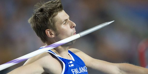 Antti Ruuskanen on ainoa suomalaisedustaja finaalissa.