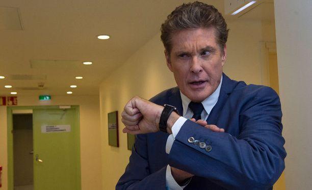 David Hasselhoff tunnetaan muun muassa Ritari Ässä- ja Baywatch-sarjoista.