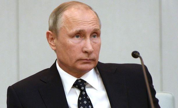 Vladimir Putinin johtaman Venäjän veto oli odotettu.