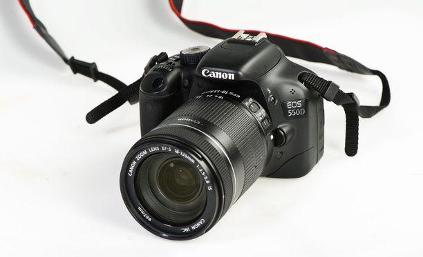 Asiakas oli ostanut kameran, jossa oli jonkun toisen henkilökohtaisia kuvia. Kuvituskuva.
