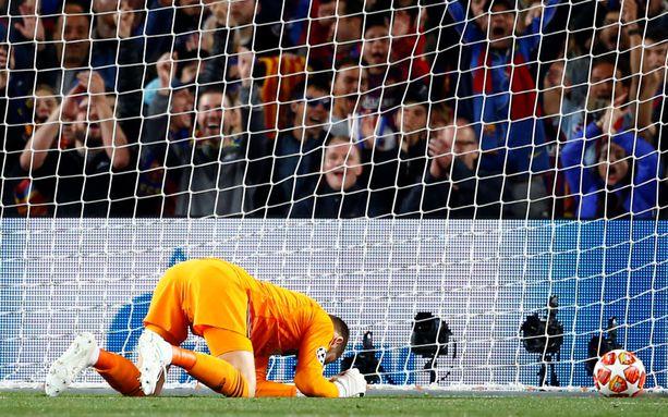 Manchester Unitedin maalivahti David de Gea päästi maalin, joka muistetaan.