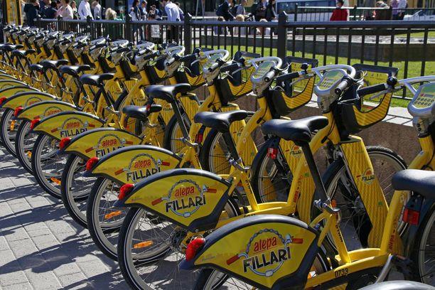 Kaupunkipyörät tuodaan osaksi Whim-sovelluksen liikkumismuotoja ilman lisämaksua.