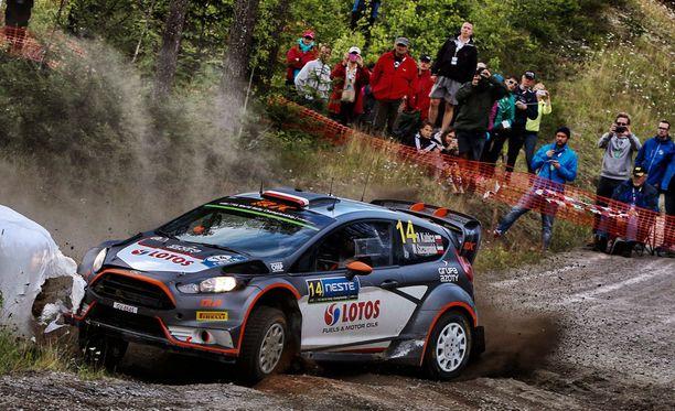 Robert Kubican MM-rallin Suomen osakilpailu on ollut täynnä vastoinkäymisiä.