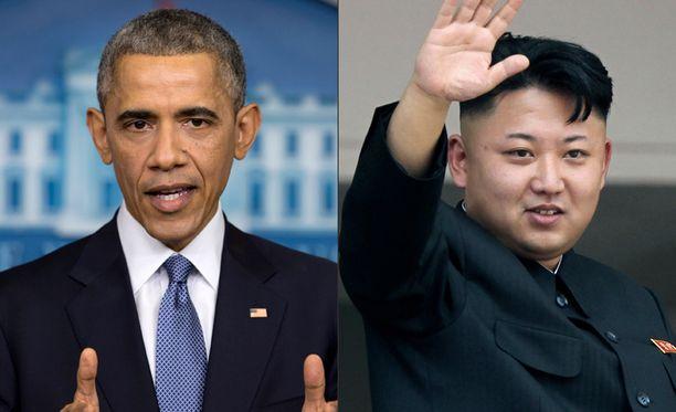 USA ja Pohjois-Korea ovat jälleen avoimessa selkkauksessa.