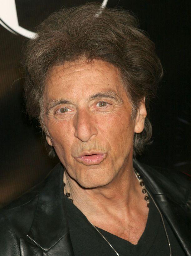 ja näyttelijä Al Pacino vuonna 2008.