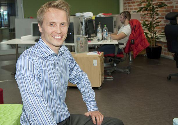 SUJUI KUIN TANSSIT Toiminnanohjausjärjestelmiä tekevän Severan nousu oli todella ripeää. Ari-Pekka Salovaara myi yrityksensä miljoonakaupoilla alle kymmenen vuotta perustamisen jälkeen.