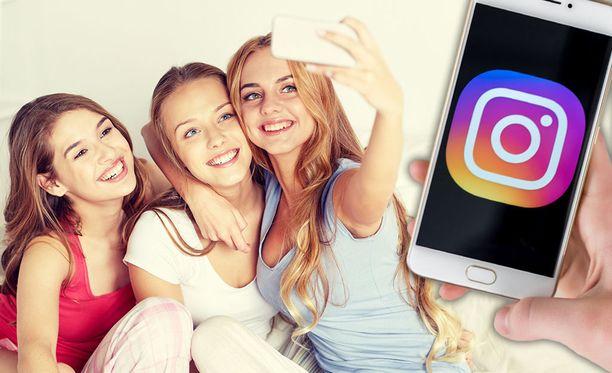 Teinien houkuttelemiseksi Instagramissa on luotu oma metodi. Kuvituskuva.