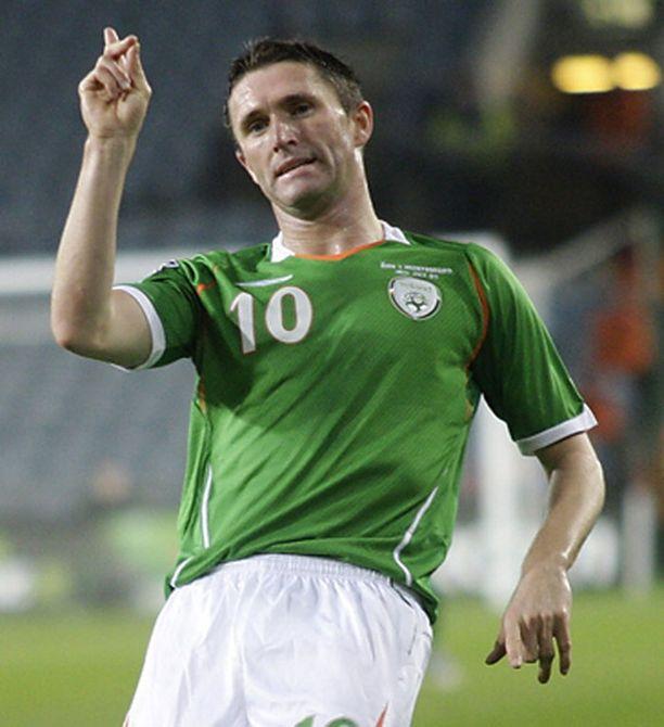 Robbie Keane on Irlannin tunnetuin pelimies.