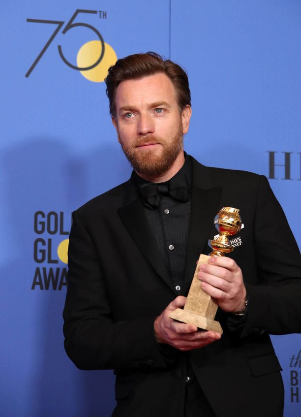 Evan McGregorin kiitospuhe herätti kummastusta Golden Globe -gaalassa.