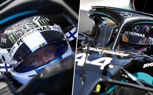 Valtteri Bottas taisteli upeasti toiseksi, Lewis Hamilton ajoi helppoon voittoon – Kimi Räikkönen pääsi lähelle pisteitä