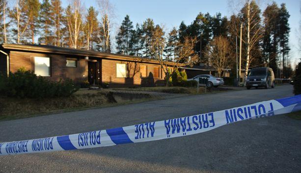 Poliisi eristi illalla Seinäjoen Joupissa sijaitsevan omakotitalon.