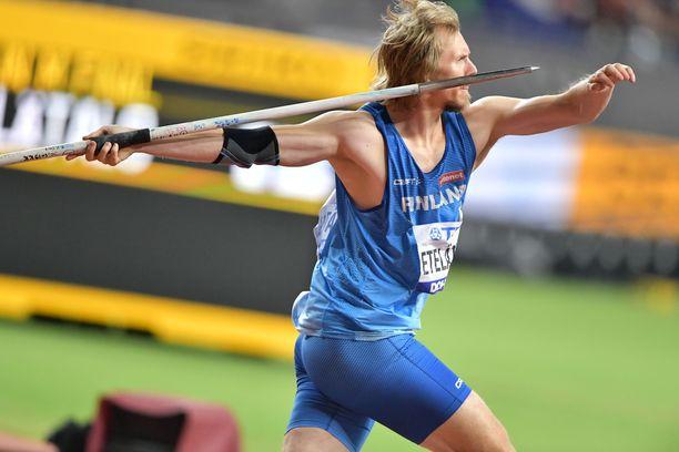 Lassi Etelätalo oli Dohan MM-kisojen paras suomalainen.