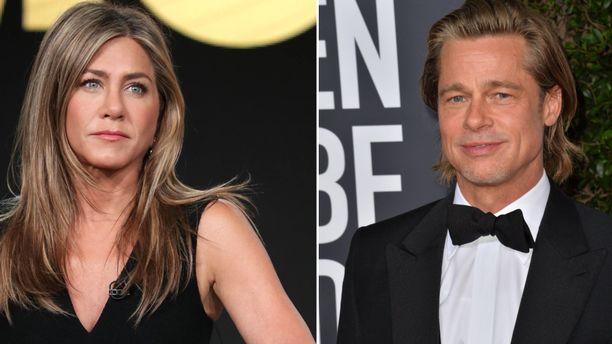 Jennifer Aniston onnitteli ex-miestään Brad Pittiä Oscarin johdosta.
