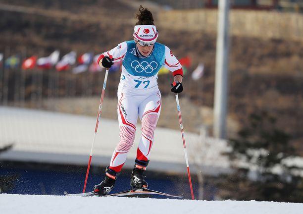 Aysenur Dumanilla on kokemusta myös olympialaisista.