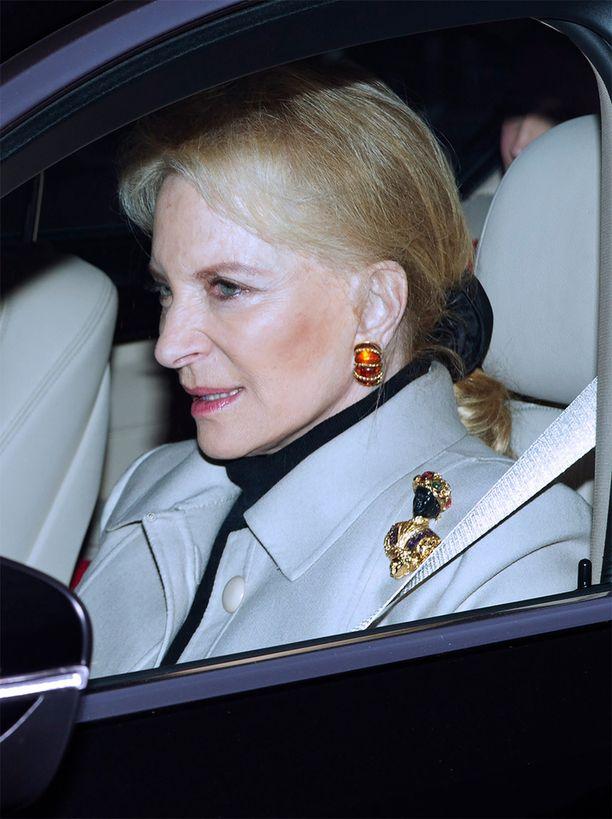Kentin prinsessa Michaelin koru on niin sanottu Blackamoor-figuuri.