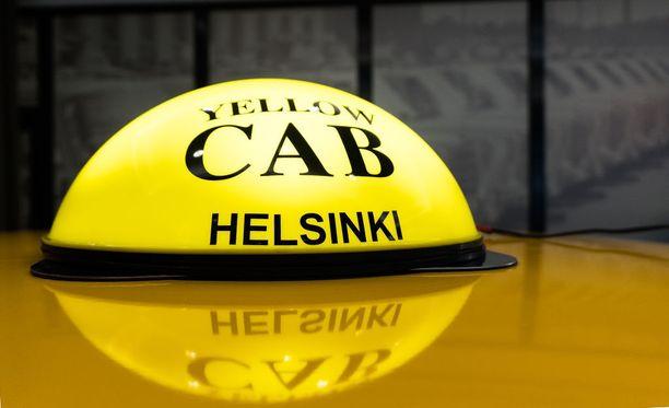 Katon taksivalo on teetetty vanhaan New Yorkin taksityyliin sopivaksi.