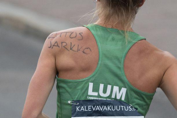 Tiia Kuikka kiitti Kinnusta.