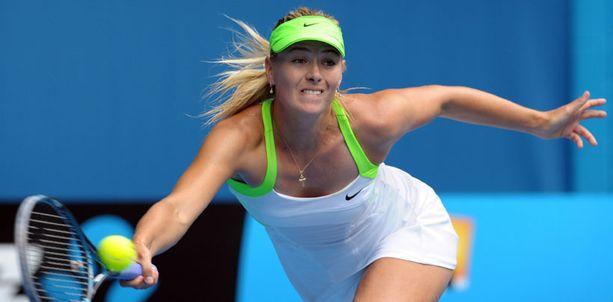Maria Sharapova luottaa kokemukseensa.