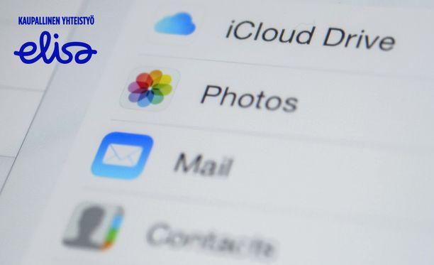 Kun tiedot ovat tallessa pilvessä, tietoihin pääsee käsiksi miltä tahansa laitteelta.