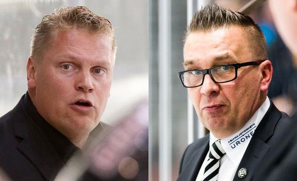 Pekka Virta ja Ari-Pekka Selin ovat syksyn onnistujia. Silti kummallakaan ei ole vielä työpaikkaa ensi kaudeksi.