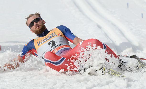 Petter Northug osallistuu Lahden MM-kisoihin rivimiehenä.