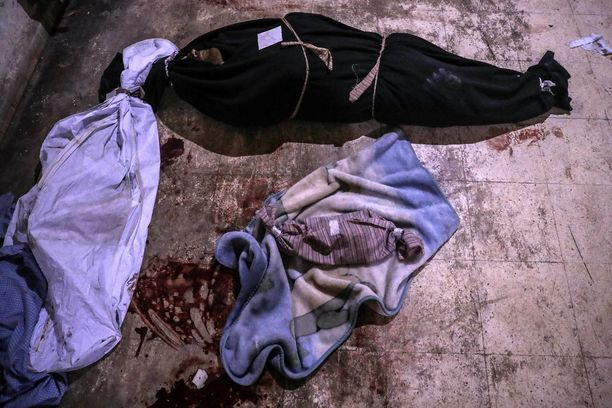 Iskuissa on kuollut ja haavoittunut jo yli 1 000 ihmistä. Itä-Ghoutassa sijaitsevalle ruumishuoneelle tuotiin tiistaina yhden vastasyntyneen ruumis. Hän oli yksi yli 50 kuolleesta lapsesta.