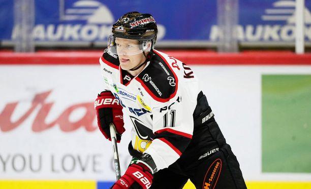 Ville Korhonen on pelikiellossa neljä seuraavaa ottelua.